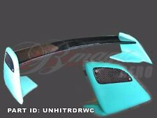 2000-2005 TOYOTA CELICA TRD STYLE REAR WING SPOILER WITH CARBON FIBER BLADE