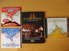 CD Bundle: John Kerr & Ron Boots : Juxtaposition : Studio & Live 3 CDs & DVD