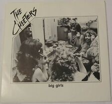 """THE CHEETERS - Big Girls 45 private 1987 Wisconsin AOR Power Pop New Wave 7"""""""