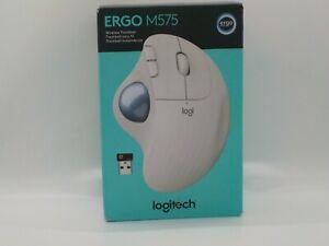 New Logitech Ergo M575 Wireless Trackball (White)
