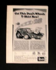 1971 Bug Out~Glitter Bus~ZZZZ`28 Model Car Toy Revell T~Shirt Offer Print Art AD