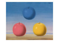 Young Lovers A2 by Rene Magritte Surrealism High Quality Art Print