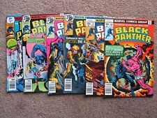 NOS> NM > Lot of 6 BLACK PANTHER 10 - 15 comic book >CGC READY !  BIG AUCTION