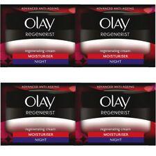 4 Olay Regenerist Regenerating Moisturiser AntiAgeing Night Cream Hydrating 50ml