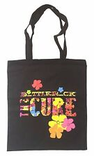 The Cure Bottle Rock Black Tote Bag New Robert Smith Event Festival Tour
