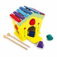 Legler Dodoo Casa Di Suoni E Attività Legno Musicale BAMBINI Giocattolo (6620)