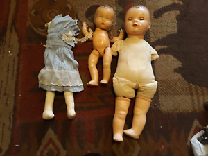 Vintage Ideal Composition Baby Dolls &  Body Parts / Selling as Is
