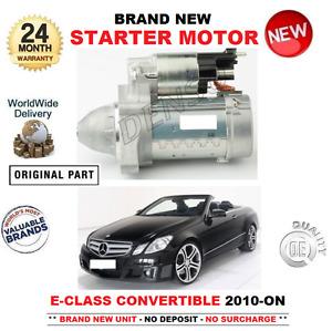 Pour Mercedes Benz Classe E A207 Cabriolet Démarreur Moteur 2010- > E220 E250