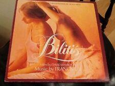 Francis Lai Bilitis Lp Vinilo ex 1978 comprimidos Banda Sonora David Hamilton Sexy Cover