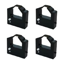 4x Farbband für Honneywell Bull 4 54 DEC LA 324 424  Nylon 25mm schwarz