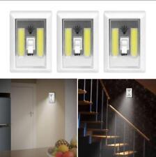 5W COB LED Wireless Wall Switch Closet Cordless Night Light Battery Operated 2x