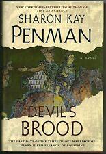 DEVIL'S BROOD BY SHARON KAY PENMAN 2008 PENGUIN BOOKS HARDCOVER