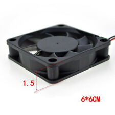 60mm Internal Desktop Tower CPU Cooler Coolant 4 Pins Fan For Computer Case