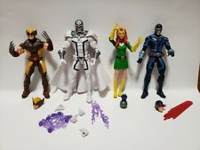 Marvel Legends House of X Magneto Wolverine Jean Grey Cyclops loose lot of 4