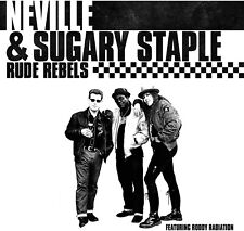 AUTOGRAPHED RUDE REBELS CD BY FROM THE SPECIALS NEVILLE STAPLE & SUGARY STAPLE