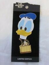 Disney Zip - A - Dee- Doo- Duck Pin 2000 Donald Duck Hot Air Balloon Le Dangle