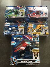 Dreamworks Voltron Legendary Defender 2017 Complete 5 Piece Set Original Boxes