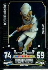 Star Wars Force Attax Series 3 Card #200 Captain Ackbar