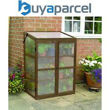 Gardman Garden Wooden Greenhouse Cloche Plant Growhouse Polycarbonate 08896