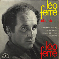 LEO FERRE A SAINT-GERMAIN DES PRES FRENCH ORIG EP