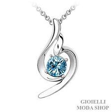 Collana Donna con Ciondolo Chiave di Violino Crystal Swarovski Elements- G96