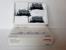 Märklin H0 46600 Wagen-Set GASWAGEN Set der KBayStsB 3tlg Neu/OVP