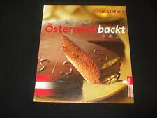 Dr. Oetker - Österreich backt  - gebunden