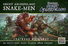 28mm Frostgrave Snakemen, Multipose Adventurers, D&D, Great For Kings Of War