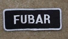 FUBAR MOTORCYCLE PATCH---014