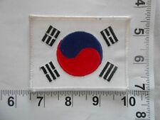Vintage 1980's Tae Kwon Do Korea Flag Martial Arts MMA Uniform Patch free ship