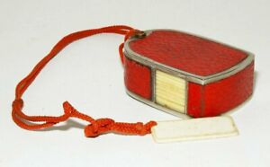 WERRALUX Belichtungsmesser, Luxus-Version rot/gold