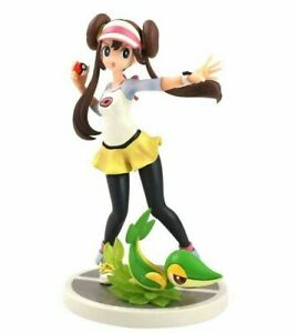 Rosa (Mei) and Snivy Pokemon Trainer Collectible Statue Action Figure Model