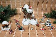 Hidden Kingdom Christmas Hollow Kringle David Wenzel Schmid Elf Elves Figurines