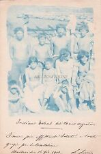 URUGUAY - Montevideo - Indiani Tobas del Chaco Argentino 1901