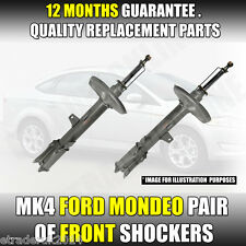Ford Mondeo MK4 IV TDCi FRONT Shock Absorbers Dampers Shocks Shockers Pair