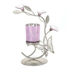 Gallery of Light Pink Butterfly Candleholder
