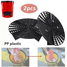 2PCS Car Wash Grit Guard Insert Washboard Water Bucket Filter Screen Strainer PP