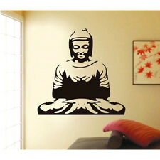 1019 | Wall Stickers Meditating Buddha Black