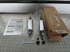 00-17 Harley Davidson Softail Chrome Profile Low Rear Suspension Shocks