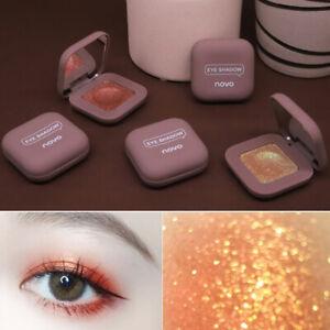 Fashion Pearlescent Eyeshadow Pallete Palette Single Eye Shadow Makeup Tool Gift
