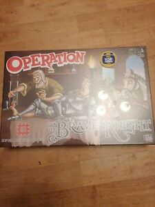 Operation The Brave Knight Board Game Fun Kids Hasbro New Sealed 6+