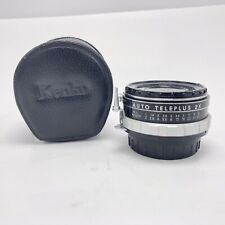 Kenko NT AUTO TELEPLUS 2X Lens W/ Case Made In Japan