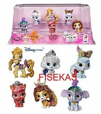Disney Store Palace Pets 6 pc Figure Mini Doll Play Set PVC Cake Top 2.5 in NEW
