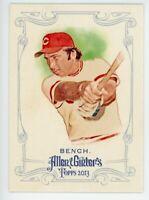 2013 Topps Allen Ginter #38 JOHNNY BENCH Cincinnati Reds HOF BASEBALL CARD