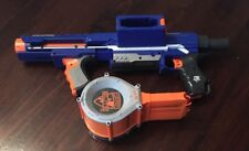 NERF N-Strike Elite RAMPAGE Main Blaster w/ Extended Arm + 25 round DRUM clip