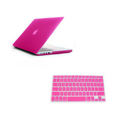Hard Case Rubberized keyboard Cover For old MacBook Unibody White 13 A1342 A1181