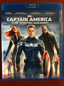 Captain America - The Winter Soldier (Blu-ray Disc, 2014, Marvel) - BLU20