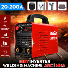 220V 4000W Mini Electric Welder Inverter Arc Welding Machine IGBT Portable