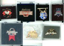 MLB All-Star Game Press Pin Choice ASG Pins 1997 1998 2002 2004 2009 Media