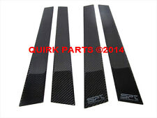 2008-2014 Subaru Impreza WRX SPT Carbon Fiber B-Pillar Trim Kit OEM NEW